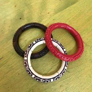 3 nice bracelets